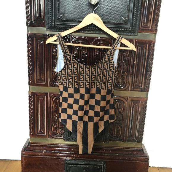 b14ab3c67257fa Fendi vintage bikini swimsuit one piece M. M_5c295b6afe5151d42e6702b8